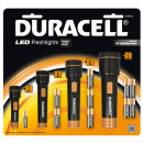 wholesale Flashlights: Taschenlampenset 4pcs. - Duracell