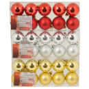 Christmas balls 10tlg. - 4cm