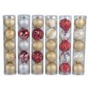 Christmas balls 5tlg. - 6cm