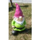 groothandel Figuren & beelden: Dekofigur - gnome staande - groen
