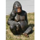 grossiste Figurines & Sclulptures: Dekofigur -  Gorilla - 115x80x70cm