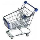Großhandel Taschen & Reiseartikel: Einkaufswagen - Metall - Mini