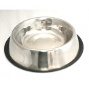 wholesale Pet supplies:Dog bowl 34cm - silver
