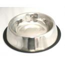 wholesale Garden & DIY store:Dog bowl 34cm - silver