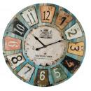 grossiste Horloges & Reveils: Horloge murale - Bois - Chateau
