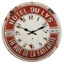 groothandel Klokken & wekkers: Wall Clock - Metal - Hotel du Lys