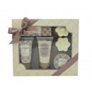 wholesale Drugstore & Beauty: Shower-Bath set 4 - Almond