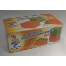 wholesale Cleaning: Microfiber cloths  Set 22tlg. - Orange / green - la