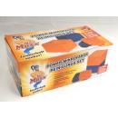 groothandel Reinigingsproducten: Microvezeldoeken  Set 22tlg. - Oranje / blauw - gez