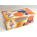 Microfaser-Tücher  Set 22tlg. - orange/blau - seen