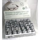 Großhandel Brillen: Lesebrille mit 2 Ledleuchten  -
