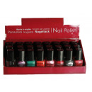 wholesale Nail Varnish: Nail Polish - 11ml  -. 24 assorted colors