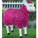 grossiste Figurines & Sclulptures: Dekofigur -  moutons bunt - 62x73x28cm