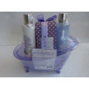 Bathtubs Set 5 pcs purple.