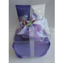 Cosmetic bags set 3 pcs. Purple
