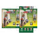groothandel Vitrage & Gordijnen: Insect gordijn met  magneten - Zebra - SP