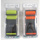Großhandel Reiseartikel: Gepäckgurt - Neu - 4 versch. Farben