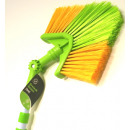 wholesale Cleaning: Telescopic  triangle broom 3m - yellow-green