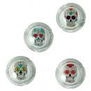 grossiste Cendriers: Cendrier en verre - Skull - 29/3486