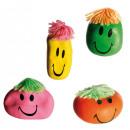 Großhandel Scherzartikel: Antistress-Ball - Funny Face - 61/2050