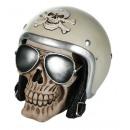 grossiste Epargner boite: Tirelire - Skull Helmet - 78/5735