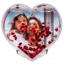 grossiste Articles Cadeaux: Coeur acrylique pour photo - 94/2179