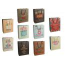 grossiste Emballage cadeau: Sac Cadeau - Vintage - 810750