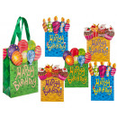 grossiste Emballage cadeau: Sac cadeau - Happy  Birthday - 11,5x16 - 180 723