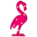 wholesale Home & Living: Flamingo with 7 LED - 220350