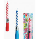 grossiste Articles de fête: Musique Candle -  Happy Birthday - 62/1001