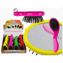 wholesale Haircare: Hairbrush - Comb  & Mirror - 76/3237