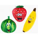 Großhandel Kissen & Decken: Kissen - Comic Fruit - 33/2032