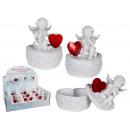 groothandel Figuren & beelden: Polyresin Engel  met hart box - 937 368