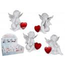 groothandel Figuren & beelden: Polyresin Engel  met rood hart - 937 369
