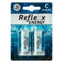 groothandel Batterijen & accu's: Baby batterij 1.5V Reflexx - 96/2010