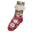 wholesale Stockings & Socks: Hut socks - Ladies  - Snowflakes - 02/3036