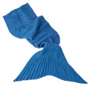 groothandel Home & Living: Deken - mermaid blue - 32/2092