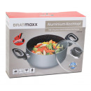 Großhandel Haushalt & Küche: Kochtopf Aluminium 20cm - Bratmaxx