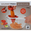 wholesale Houshold & Kitchen: Spiral cutter with bowl - GOURMETMAXX