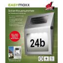 Großhandel Garten & Baumarkt: Solar-Leuchte  Hausnummer - EASYMAXX