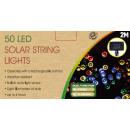 Großhandel Lichterketten: Solarlichterkette  50 Stck bunte Lichter NEU