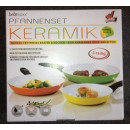 Ceramic pan set  3pc. - TV - colorful - SP