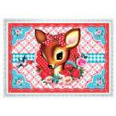 grossiste Cartes de vœux: Cotton Candy Carte  postale  transversalement ...