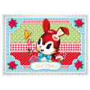 mayorista Otro: Cotton Candy  Tarjeta postal  transversalmente, ...