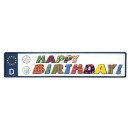 registratie auto Happy Birthday