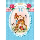 wholesale Houshold & Kitchen: Cotton Candy  Klappkarte Happy Birthday