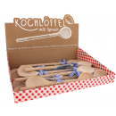 wholesale Kitchen Gadgets: Wooden spoon with beautiful