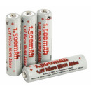 mayorista Otro: McFun batería  Micro AAA 1.2V 1500mAh NiMH paquete
