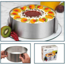 wholesale Casserole Dishes and Baking Molds: CHG steel cake  ring with scale highly 8.5cm 16-3