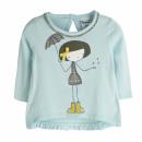 Ropa de niños y bebés - camiseta niña con paraguas